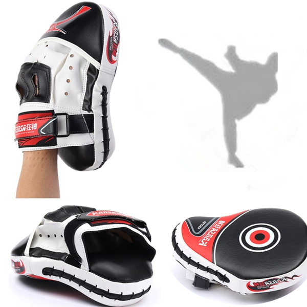 Boxing Training Punch Pads Mitts Hand Target Focus MMA Muay Thai Boxing