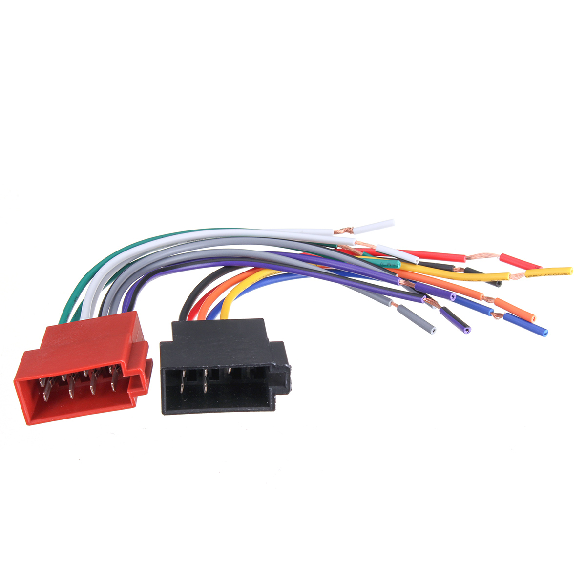 Audio Cables Universal Car Stereo Female Iso Radio Plug Adapter Wiring Harness Wire Cable
