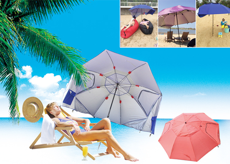 IPRee™ Outdoor Folding 1.2m Fishing Beach Umbrella Tents UV Protection Windproof