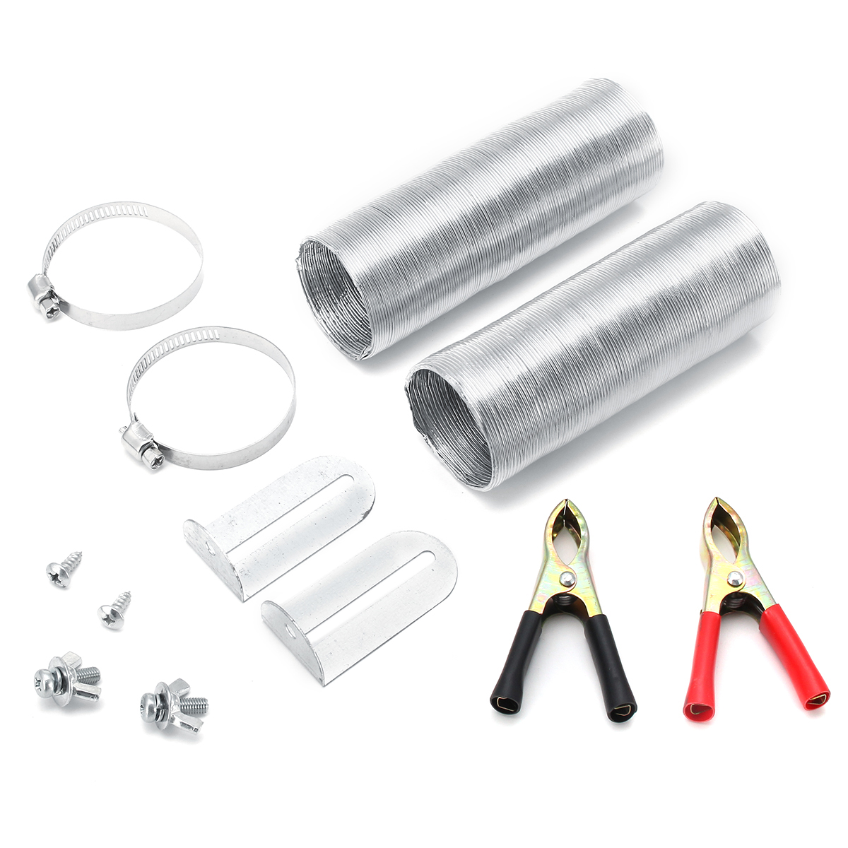 Air Supply Pipe Bracket Pipe Strap Clamps Screws For Defroster Car Heater