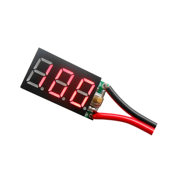 2-7S Pb Lipo Battery Testing Instruments And Ni-MH Battery Digital Display