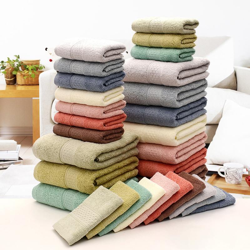 KCASA KC-X2 100% Baumwolle Feste Badetuch Schnell Trocknend Soft 10 Farben Dick Hochabsorbierend Antibakterielle Handtuch