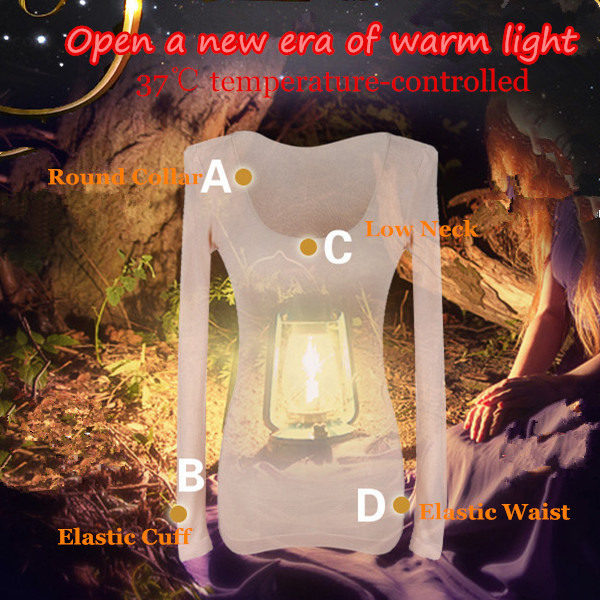 Women Thermostated Thin Thermal Seamless Body Shaping Long Underwear Set Sleepwear
