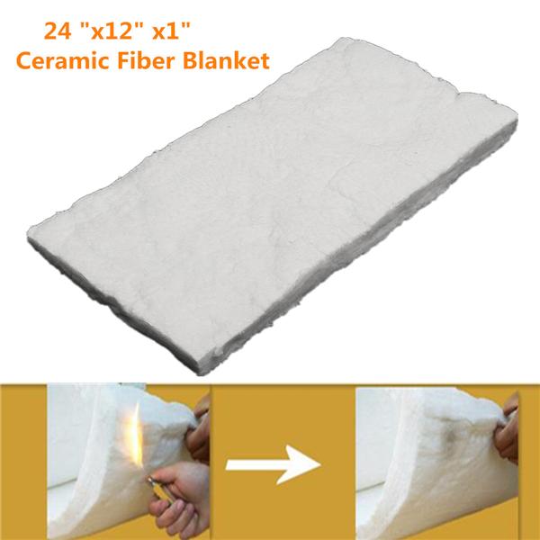 24x12x1 Inch Aluminum Silicate High Temperature Insulation Ceramic Fiber Blanket