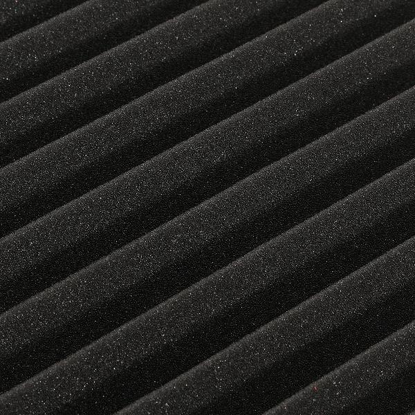 6Pcs 30x30x5cm Acoustic Wedge Soundproofing Sound-Absorbing Noise Foam Tiles