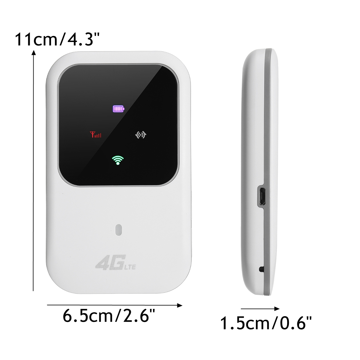Portable Wifi 4G Router LTE Wireless Car Mobile Wifi Hotspot SIM Card Slot Unlock