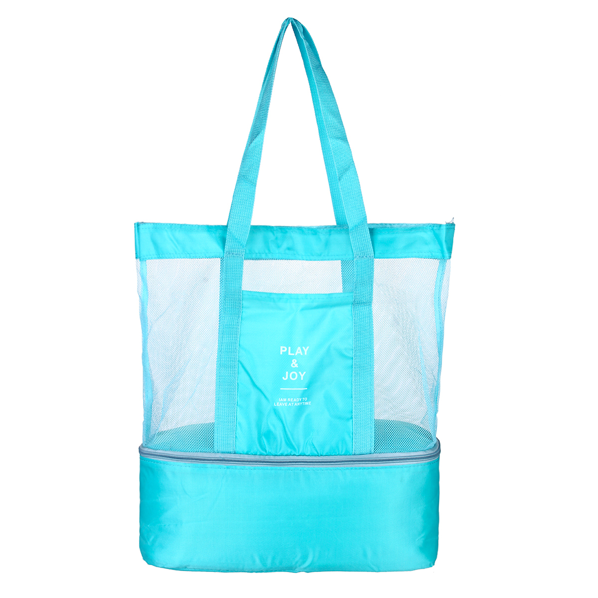 Double Layer Insulation Bag Picnic Lunch Box Tote Thermal Storage Beach Pouch Lunch Bag