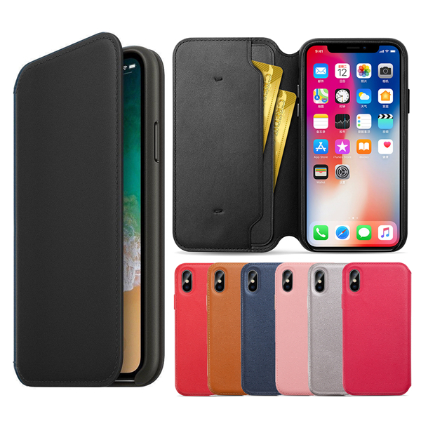 Smart Sleep Wake-up Leather Flip Case Phone Cover With