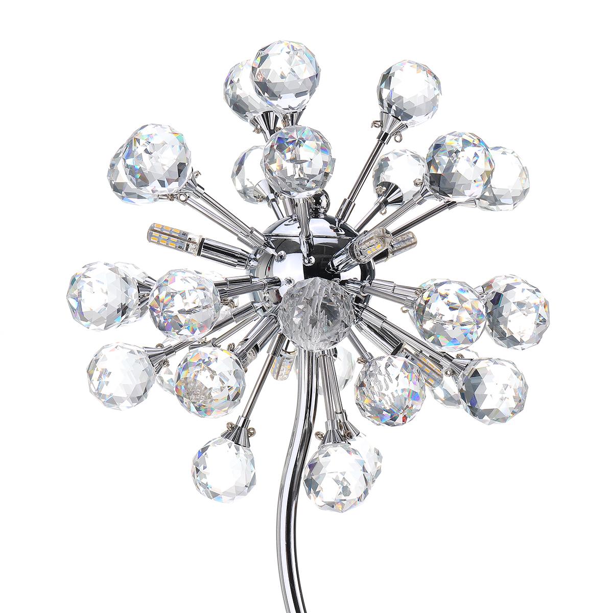 ModerneKristallkugelLEDTischleuchteSchreibtischlampeLesung Home Schlafzimmer Beleuchtung