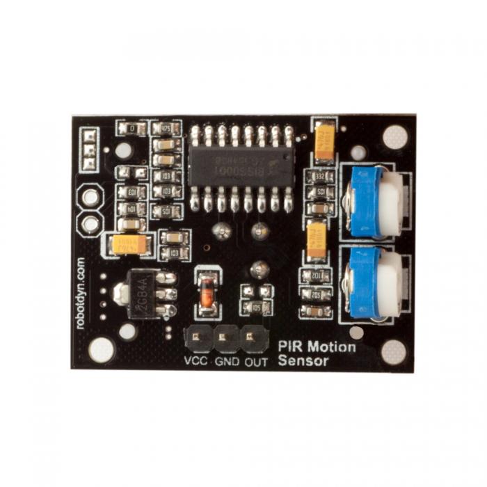 5Pcs RobotDyn® 5V PIR Motion Sensor Adjustable Time Delay Sensitive Module For Arduino