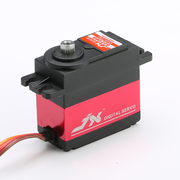 JX PDI-6221MG 20KG Large Torque Digital Standard Servo 360 Degree CCW