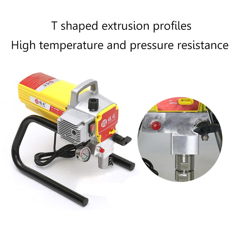 1800W 220V 5800Psi High Pressure Airless Spraying Machine Paint Sprayer Wall Spray Machine