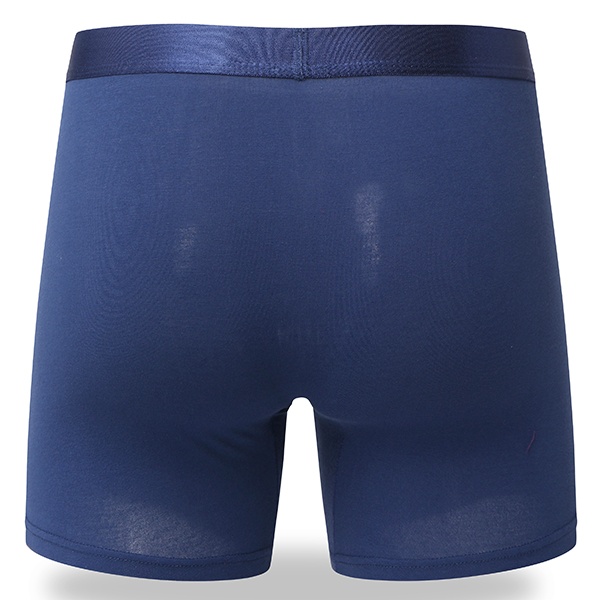 Mens Sports Cotton Running Anti-wear Legs Mid Rise Boxers Multifunctional Business Underwear