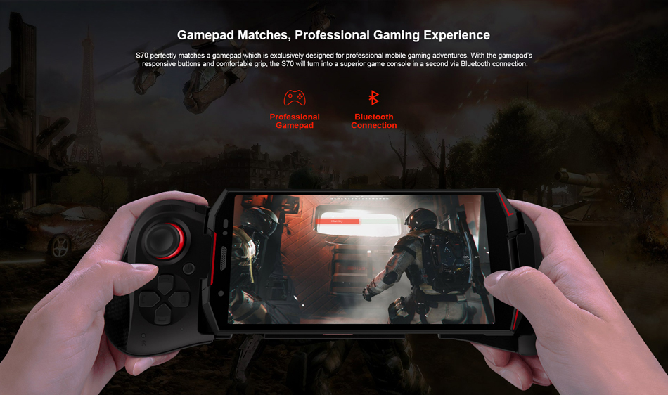 DOOGEE S70 Global Bands 5.99 Inch IP68 6GB RAM 64 GB ROM Helio P23 4G Gaming Rugged Smartphone