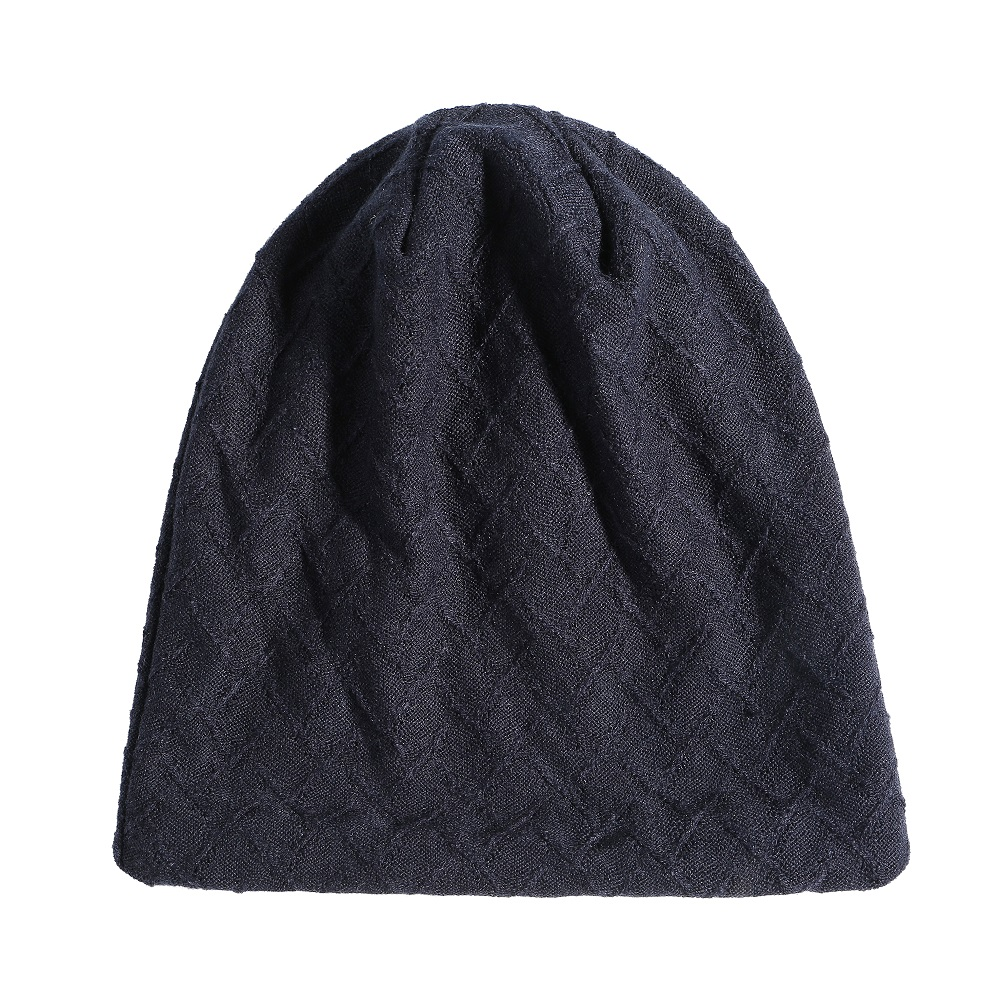 Mens Womens Vintage Cotton Double Layers Beanie Caps