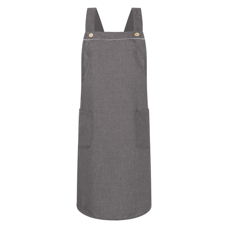 VONDA Kitchen Baking Cooking Garden Women Strap Bib Aprons Smock Pinafore With Pocket