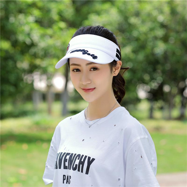 Stripe Visor Super Absorbent Breathable Baseball Hat