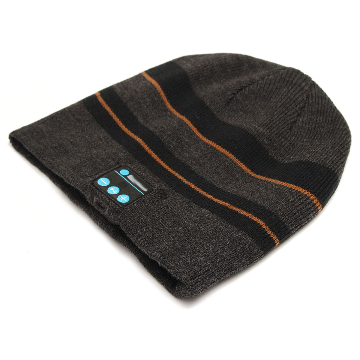 Warm Knitted Hat Music Cap Motorcycle Bike Riding Headset Ecouteur Mic with bluetooth Function