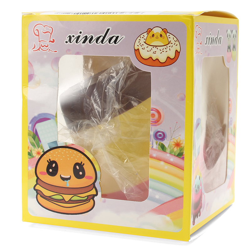 Xinda Squishy Milk Tea Cup 10cm Soft Slow Rising With Packaging Collection Gift Decor Toy