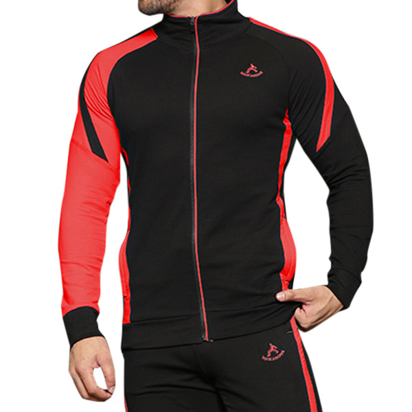 Mens Wear-Resistant Good Flexible Zipper Sportswear