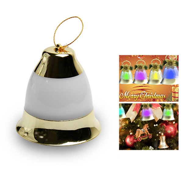 LED Waterproof RGB Colorful Bell Light Fairy Tree Lamp Outdoor Holiday Party Christmas Decoration