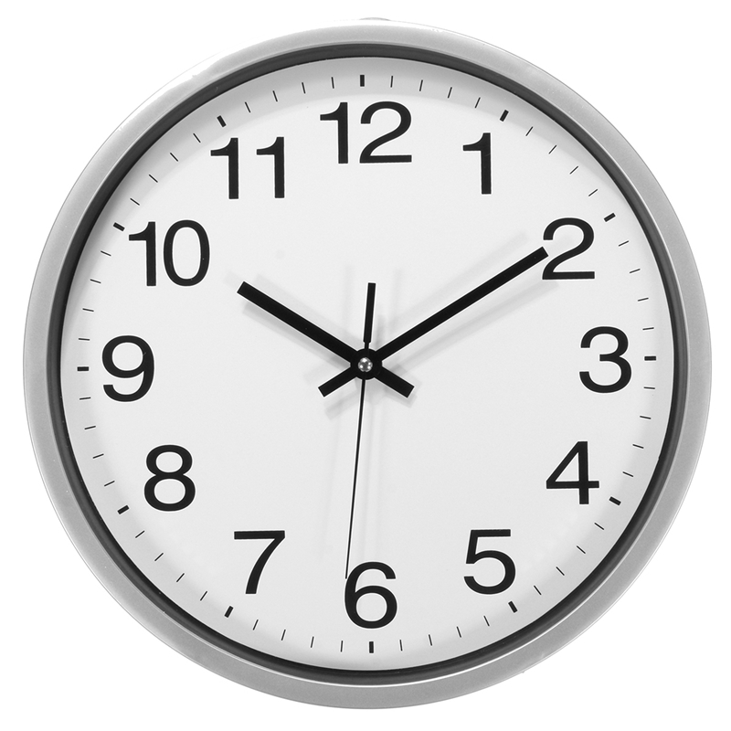12 Inch Silent Sweep Non-Ticking Wall Clock For Office Home Fashion Decor