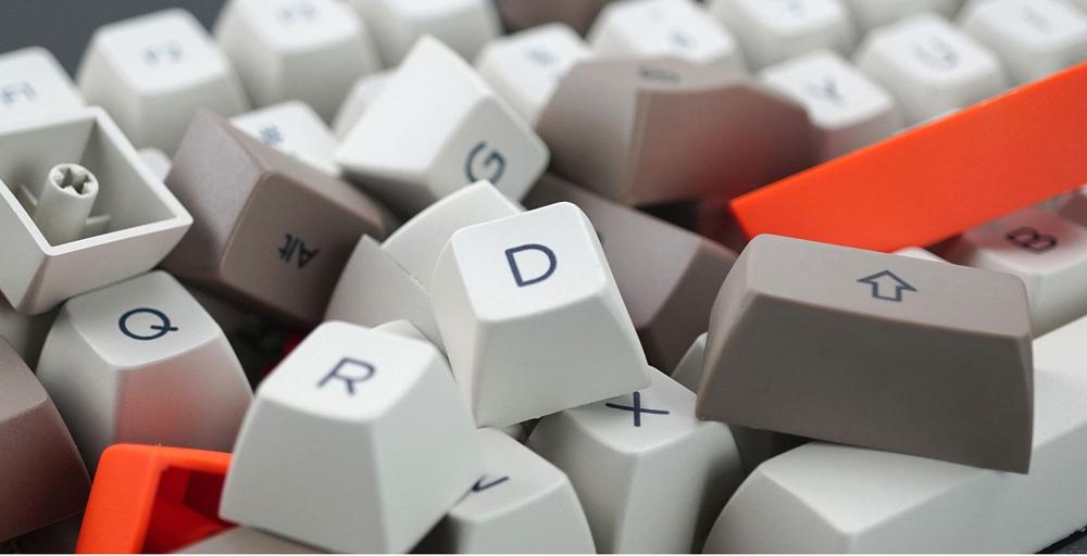 AKKO Steam Engine 108 Key SA PBT Keycaps SA Keycap Set for Mechanical Keyboard