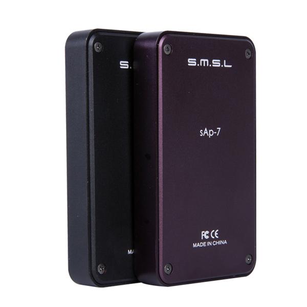 SMSL SAP-7 Hifi Portable Headphone AMP Aluminum Enclosure Integrated Headset Power Amplifier