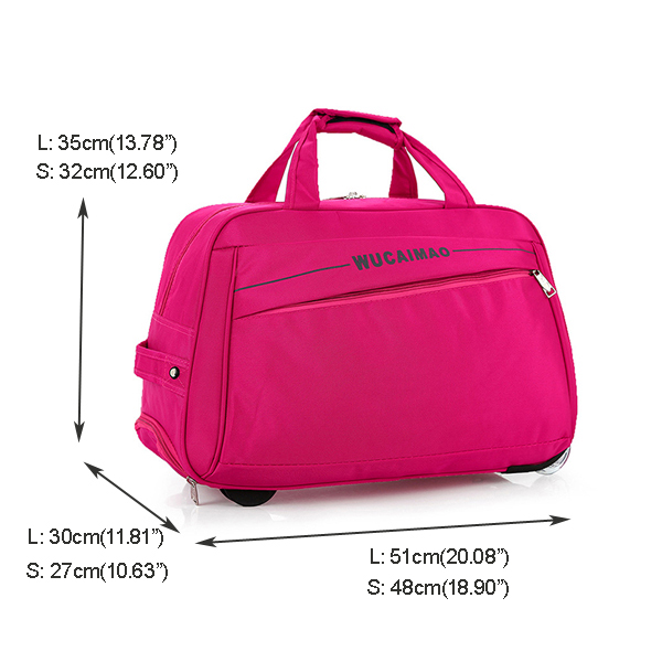 Foldable Trolley Bag Ultra Light Large-capacity Travel Bag