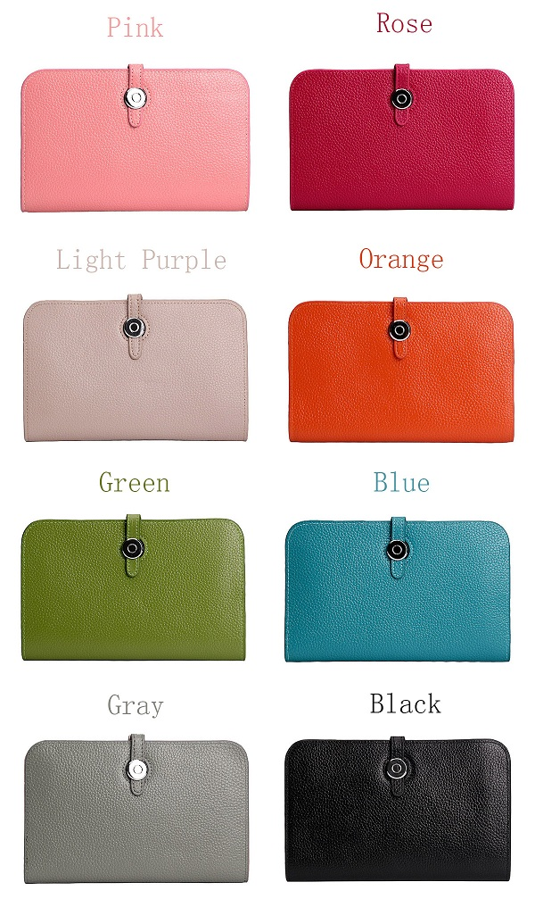 Women Genuine Leather Multifunction Durable Card Holder Purse Wallet Handbag