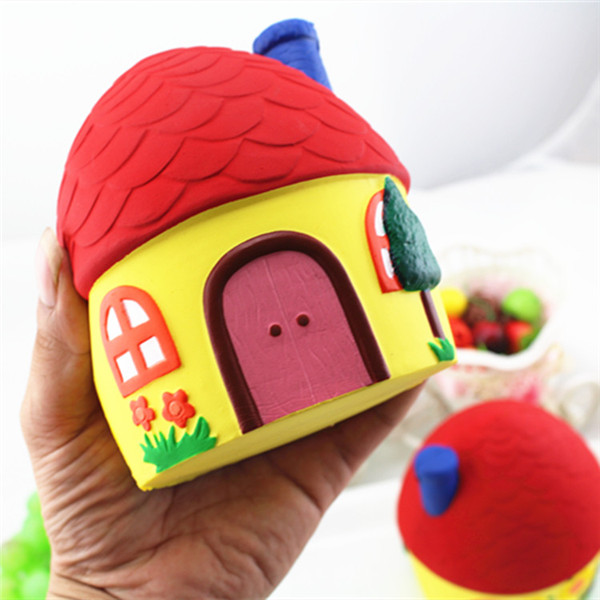 Squishy Lovely House 12cm Soft Slow Rising Cute Kawaii Collection Gift Decor Toy