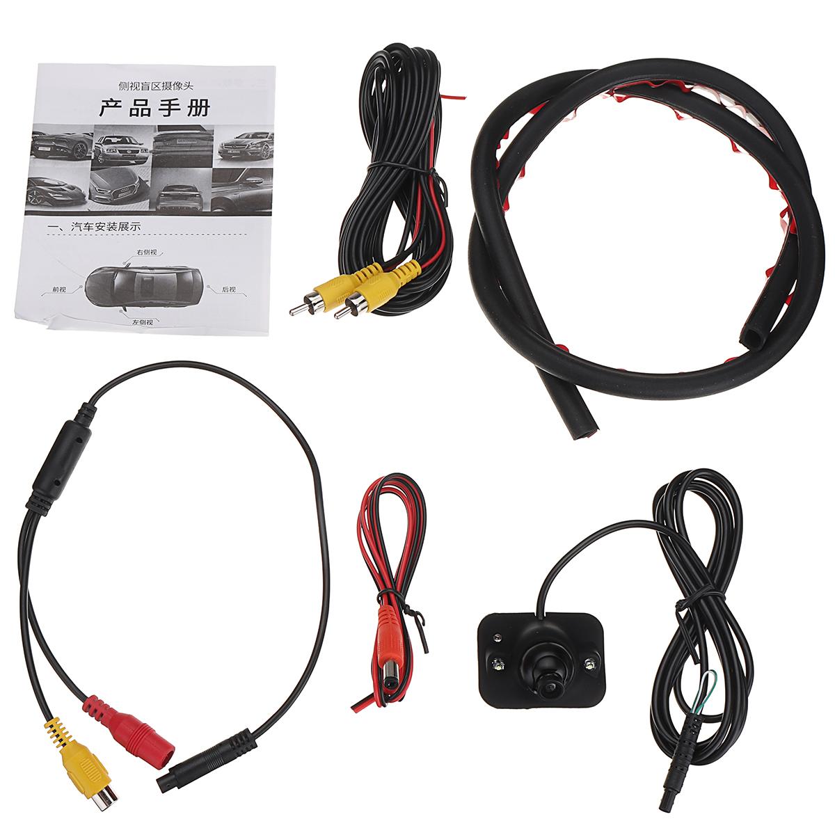 170° CMOS Car Rear View Camera Reverse Backup Parking Camera Waterproof HD Night Vision