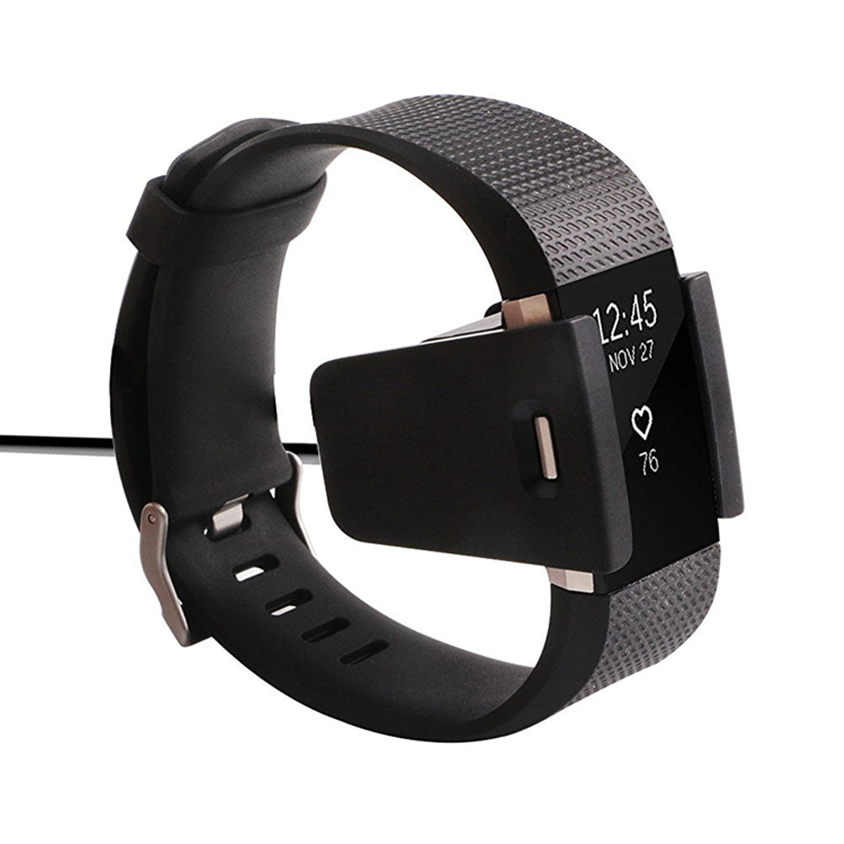 Replacement Adapter Bracelet Wristband USB Charging Cable For Fitbit Charge 2