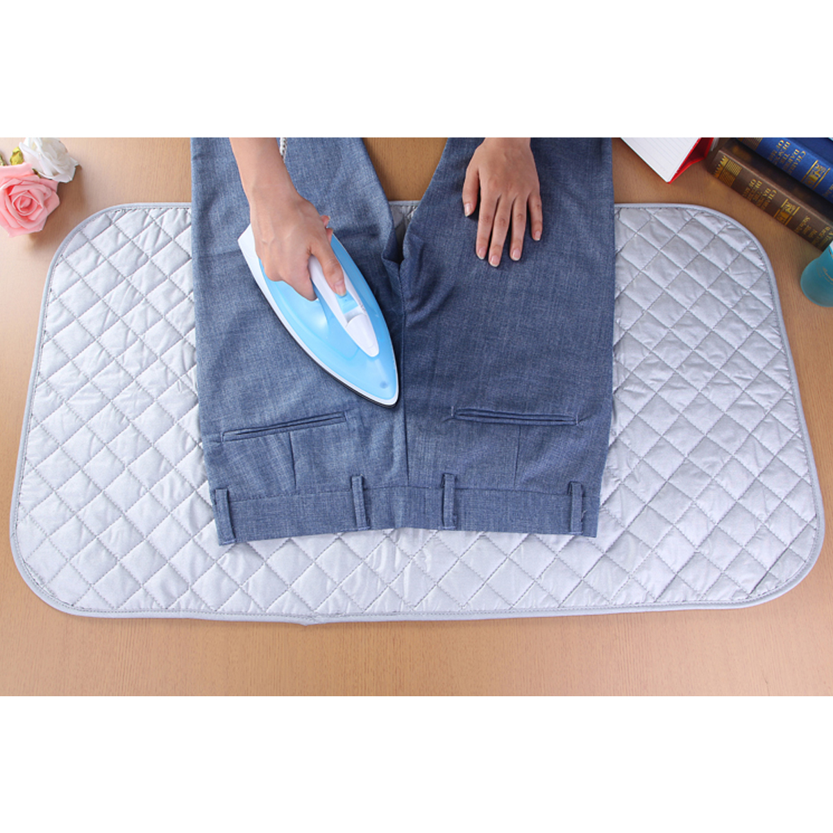 Magnetic Ironing Mats Laundry Pads Washer Dryer Covers Board Heat Resistant Blankets