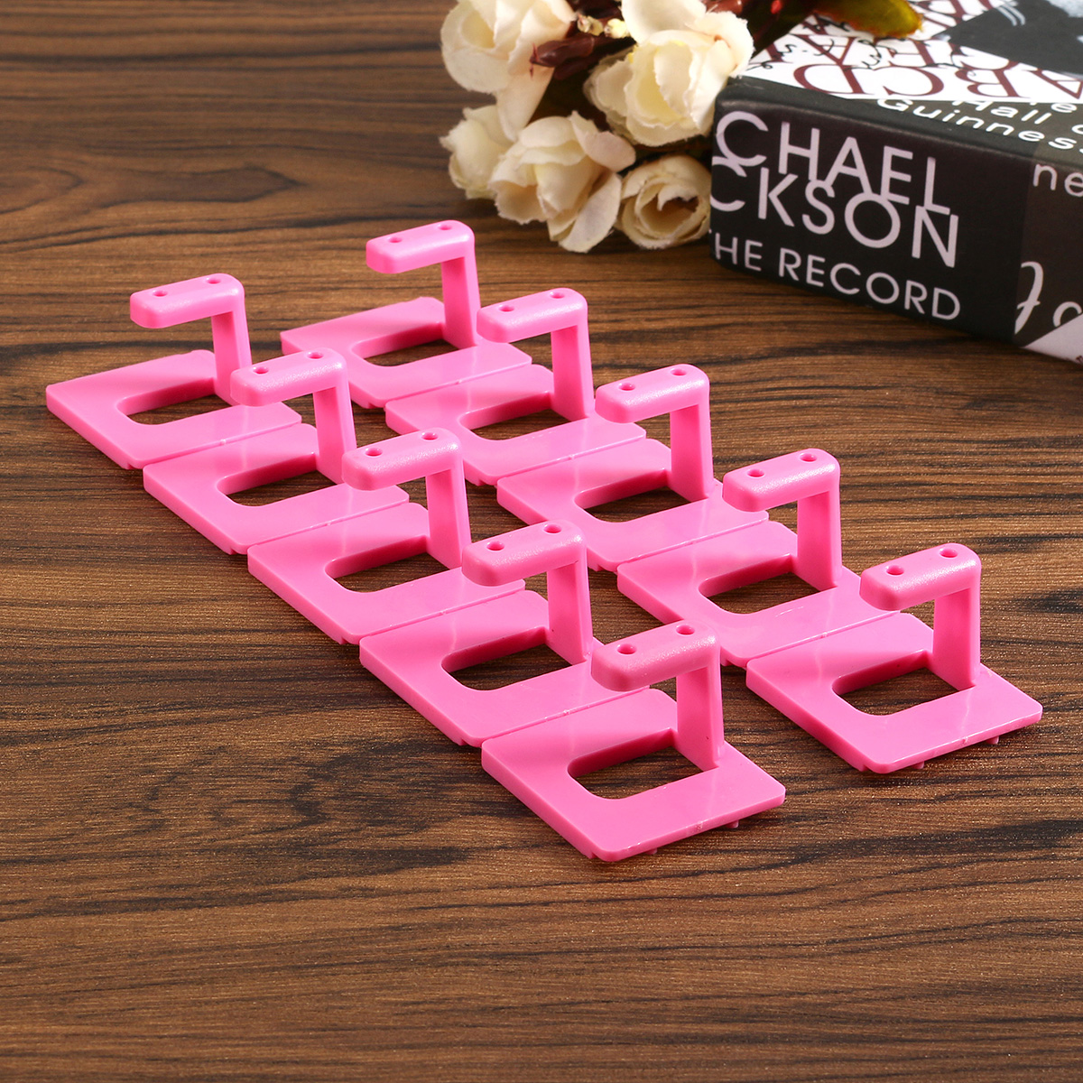 Removeable Nail Tips Display Holder Stands Practice Fixed Manicure Tool