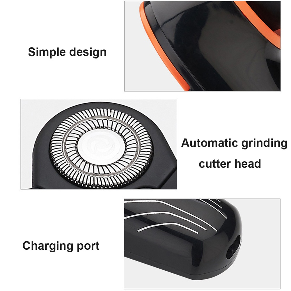 5 Heads Electric Floating Shaving Razor Intelligent Speedy