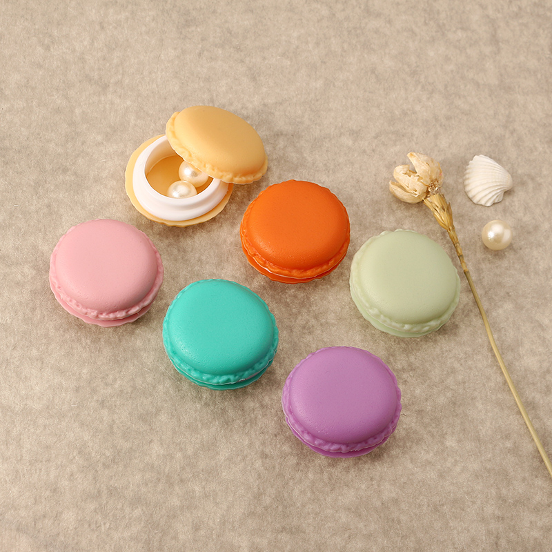 Candy Color Mini Storage Box Colorful Portable Ring Pendant Jewelry Accessories Box Display Case