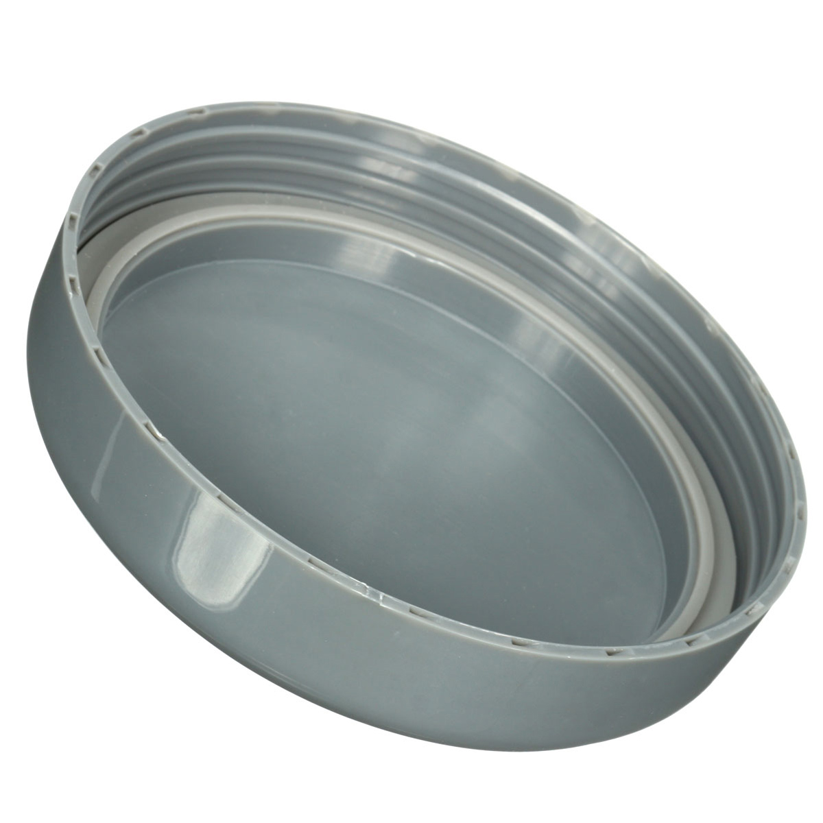Gray Lids Cover With Rubber Seal Ring Replacement For Nutri Bullet 600W 900W Cup