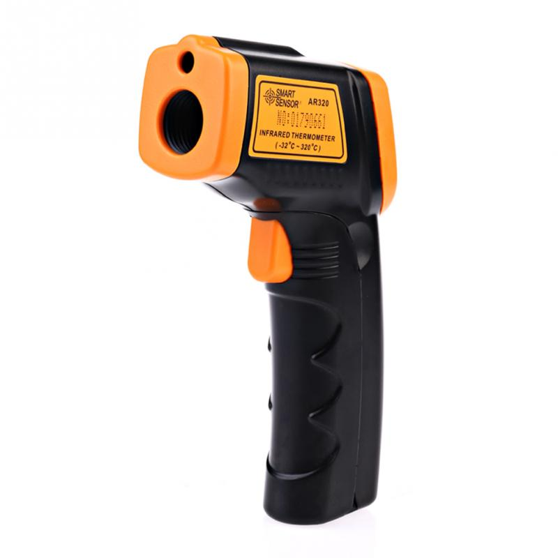 AR320 Digital Infrared Thermometer Non Contact IR Laser Point Gun Pyrometer -32~380(-26~716)