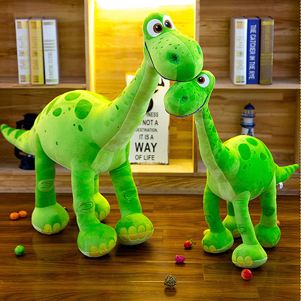 Green Dinosaur Arlo Stehend Soft Stuffed Plush Toy Doll Kids Xmas Gift