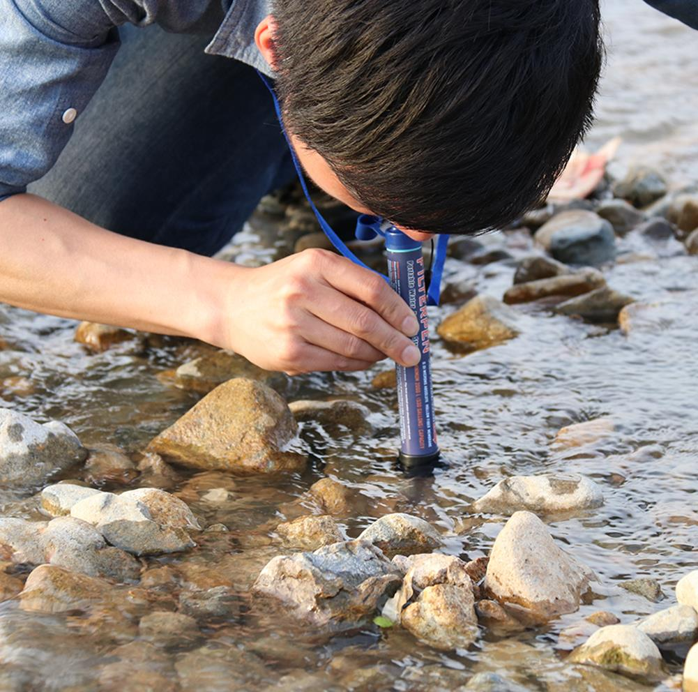 Outdoor Hunting Filter Straws Field Purifying Bubbles B3S Portable Water Purifier