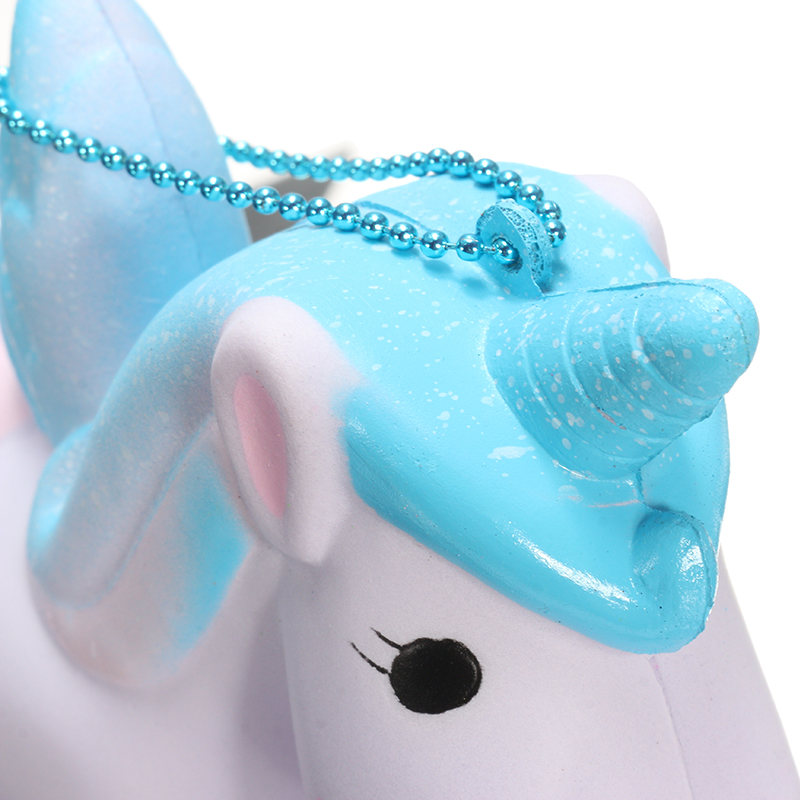 SquishyShop Unicorn Soft Squishy Slow Rising With Packaging Ball Chain Phone Bag Strap Gift Decor