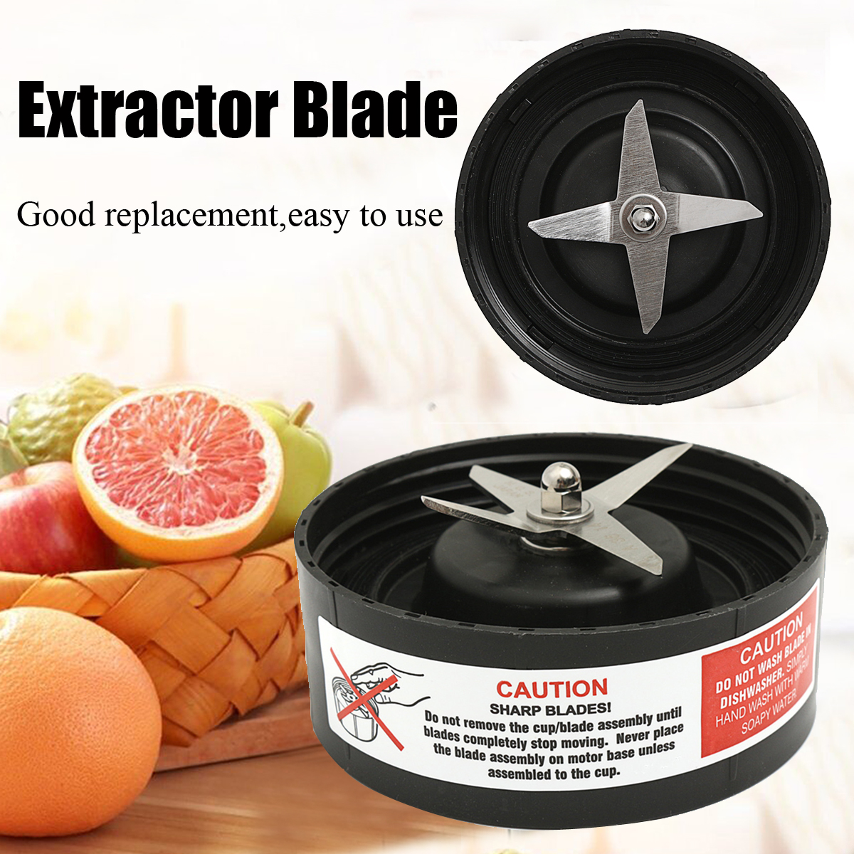 Extractor Blade Gasket Replacement Part for NutriBullet RX 1700W Blender