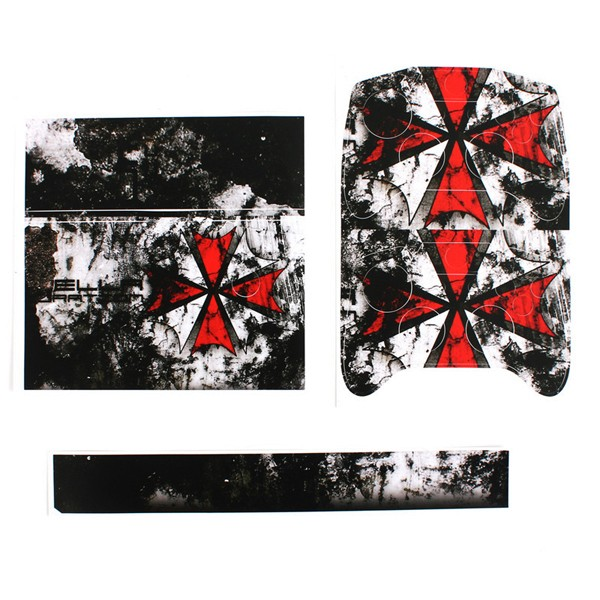 Resident Evil Red Decal Skin Sticker Protector For XBOX ONE Controller Console