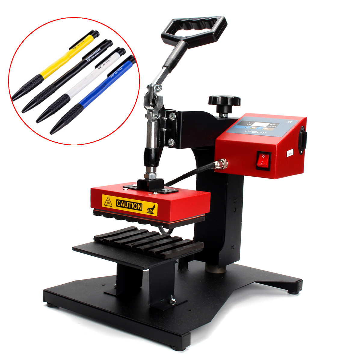 220V/110V Digital Pen Heat Press Machine For Ball-point Transfer Printing Machine