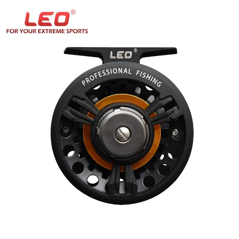 LEO FB75 1:1 4mm / 150m Full Metal Fly Fishing Reel Left Right Interchangeable Raft Fishing Wheel