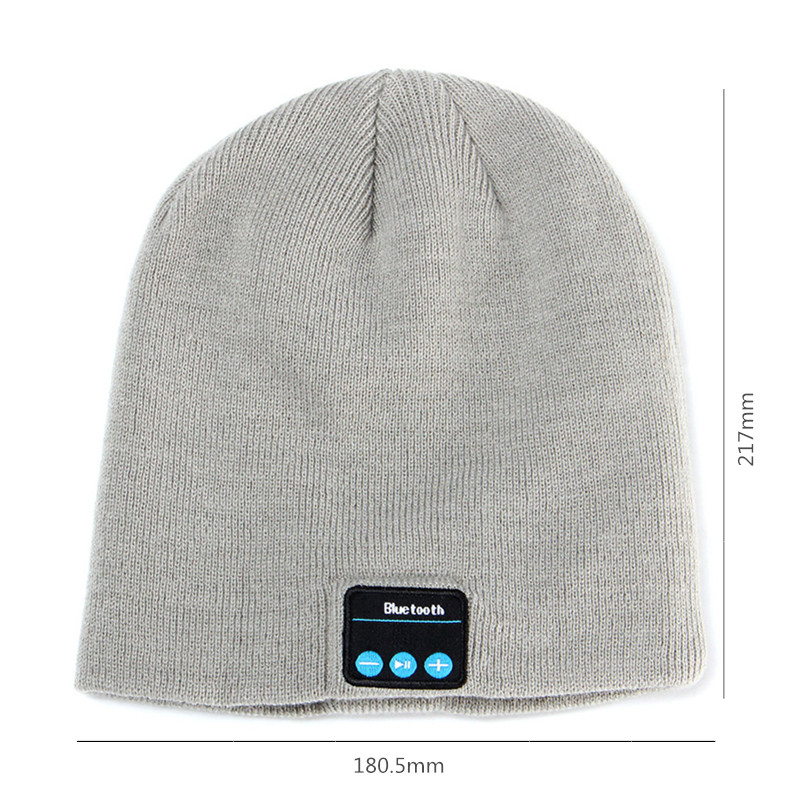 Bakeey™ Knitted Hat Wireless bluetooth Earphone Music Hat Smart Cap Headset Headphone with Mic