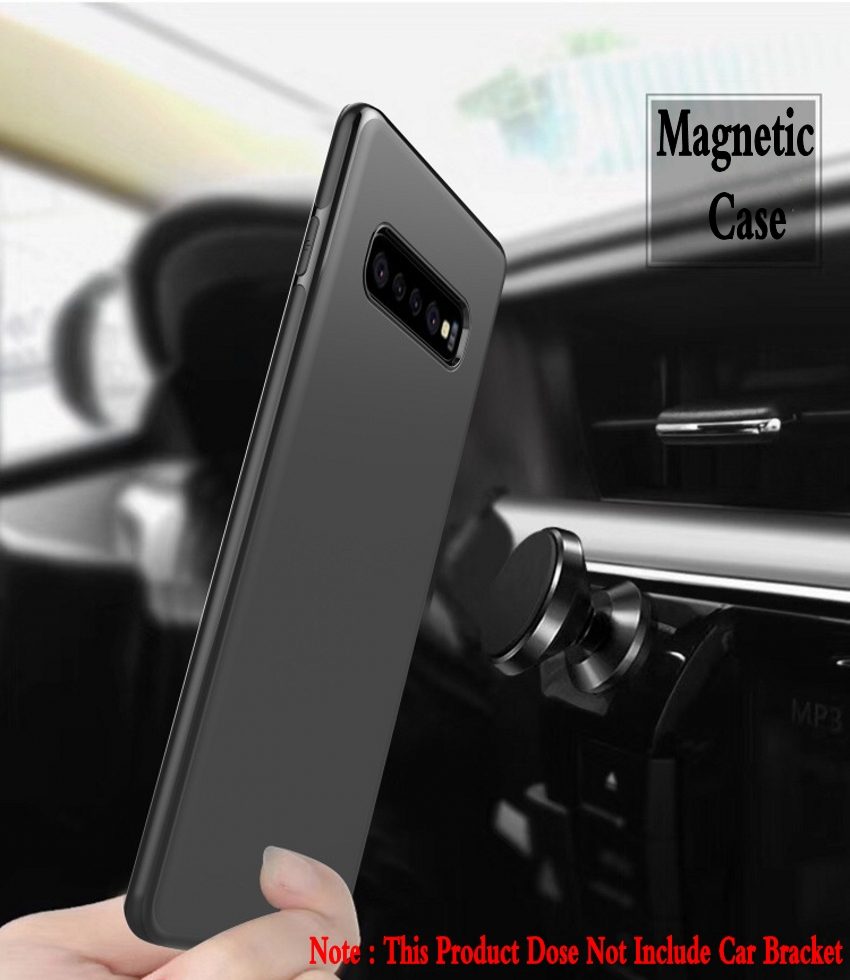 Bakeey Magnetic Adsorption TPU Protective Case For Samsung Galaxy S10e S10 S10 Plus S9 S9 Plus Micro Matte Anti Fingerprint Resistant Soft TPU Back Cover