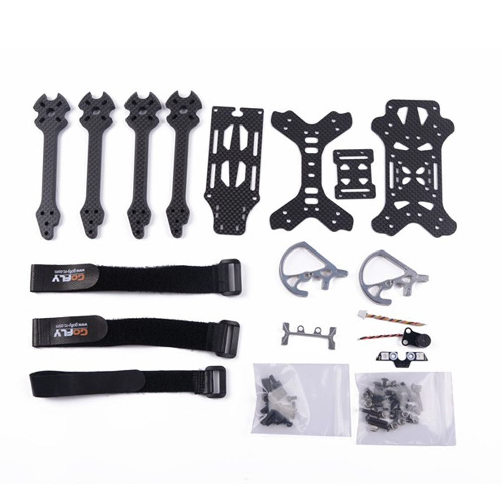 Gofly-RC Scorpion5 Part 230mm Wheelbase 6mm Arm 3K Carbon Fiber 5 Inch Racing Frame Kit for RC Drone