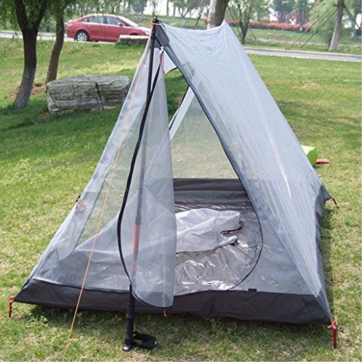 Outdoor 2 Persons Anti-mosquito Tent Sunshade Camping Picnic Sun Shelter Canopy